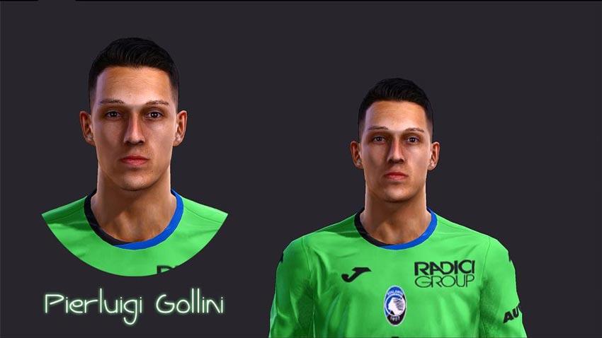 Pierluigi Gollini Face For PES 2013