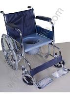 Commode Wheelchair Rainbow 7