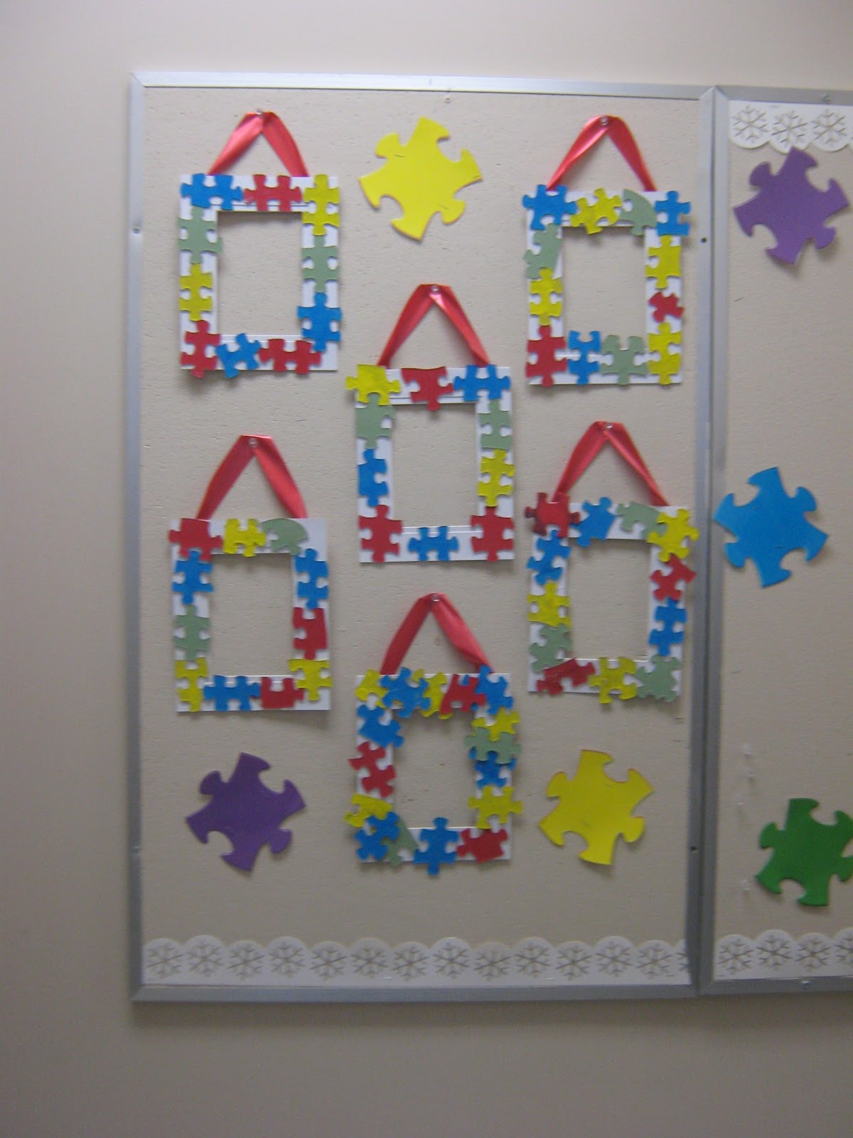 One Piece at a Time: Autism-Themed Frames
