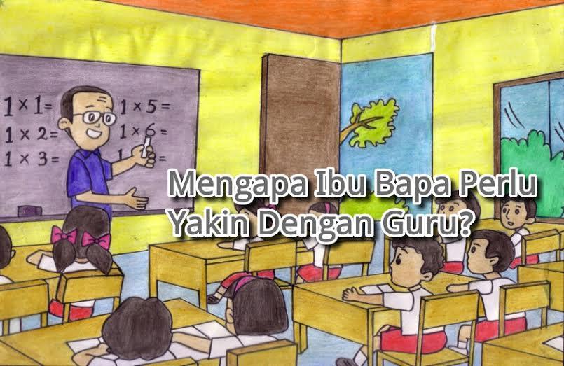 Guru Dan Ibu bapa perlu bersatu