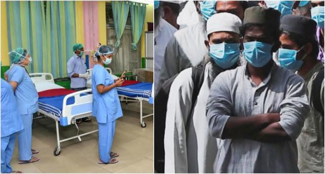 अस्पताल में कपड़े खोल कर नर्सों को भद्दे इशारे कर रहे तबलीगी मुसलमान, अश्लील गाने और कमेंट कर रहे