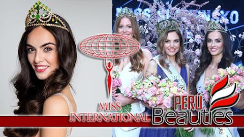 Alica Ondrášová es Miss International Slovak Republic 2019