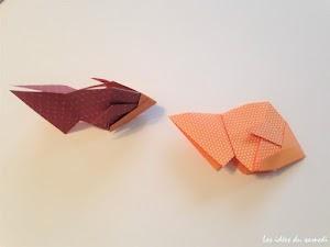 Cara Membuat Origami Ikan Lucu Mudah