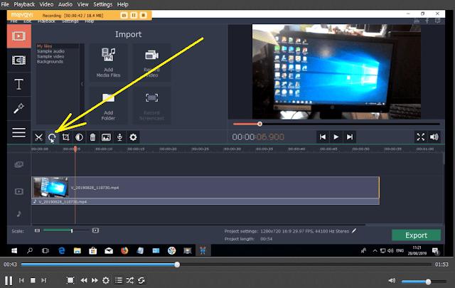 rotate video editor