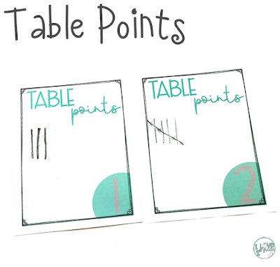 table points