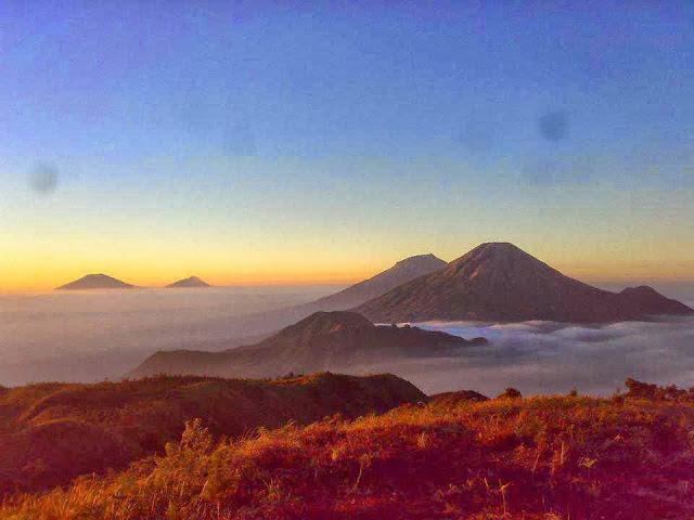 Paket Pendakian Gunung Prau 2H1M !! Jalur Patak Banteng, Wates