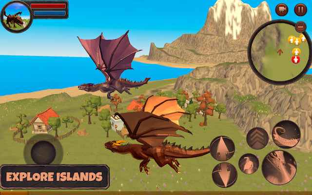 Dragon Simulator 3D: Adventure Game Hileli