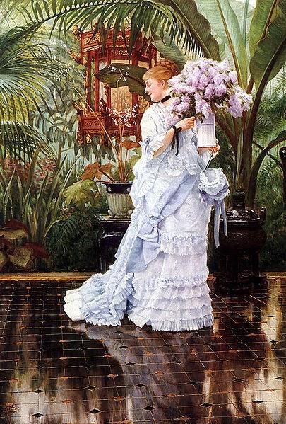 Lilás - As principais pinturas de James Tissot ~ Francês