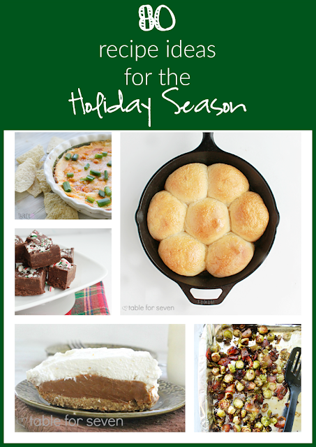 80 Recipe Ideas for the Holiday Season