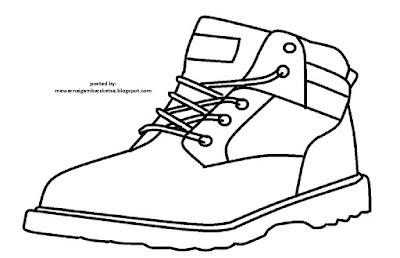 Mewarnai Gambar Sketsa Sepatu 5 Karena Mereka Adalah Masa Depan