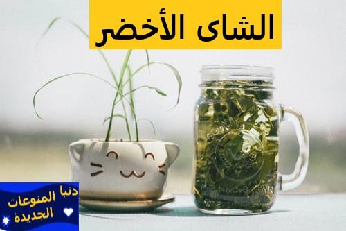 الشاى الأخضر| فوائد الشاى الأخضر فى التخسيس والتنحيف