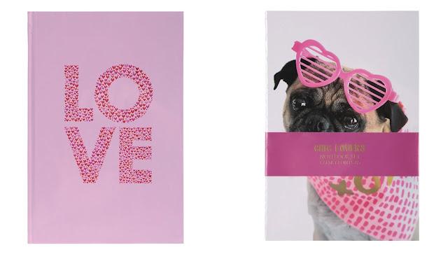 Miniso's Valentine's inspired notebook