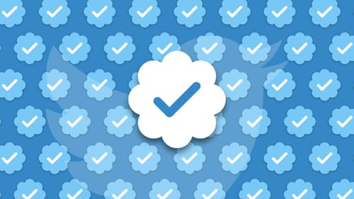 The blue check mark will soon appear on Twitter