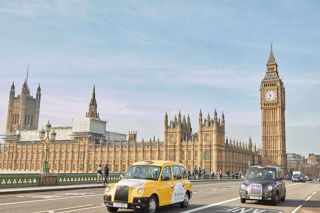 Paisaje del Big-Ben por Londres en Inglaterra