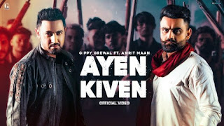 Ayen Kiven Lyrics Gippy Grewal x Amrit Maan