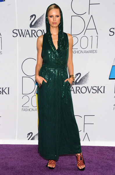 WHO WORE WHAT?10th Annual CFDA Awards Models and Designers - americana sportswear