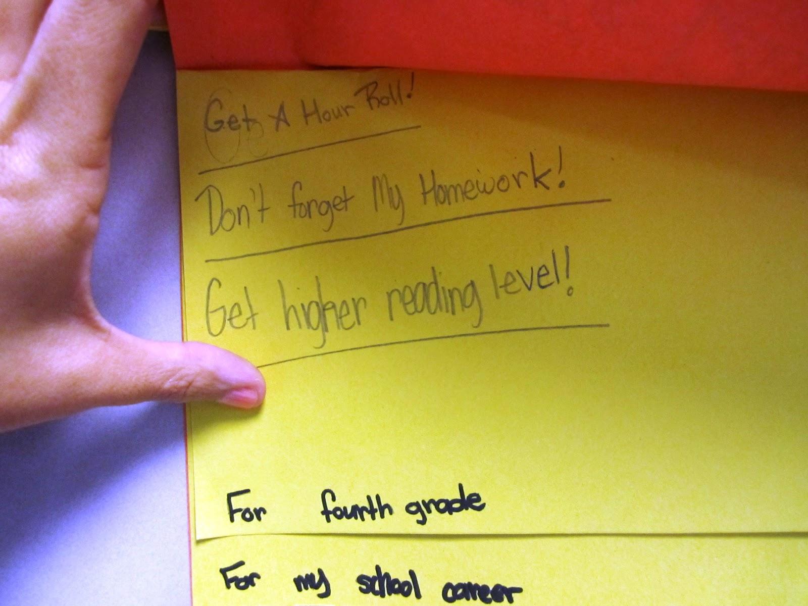 Write On Fourth Grade We Ve Got Big Plans