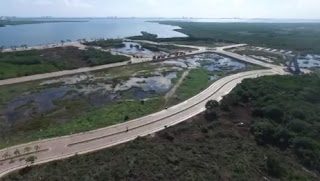 México destruye parte de un manglar en Cancún para un proyecto hotelero