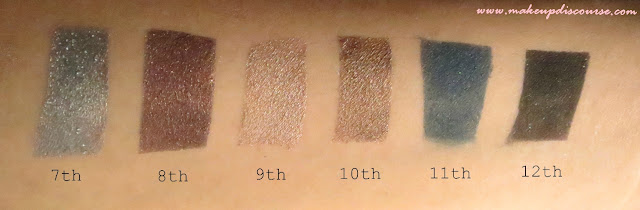 Freedom Makeup London Pro 12 Romance And Jewels Eyeshadow Palette Review, Swatches