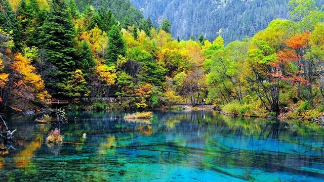 หุบเขาจิ่วจ้ายโกว (Jiuzhaigou Valley)