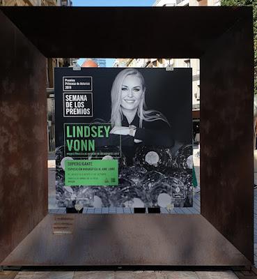 Oviedo. Premios Princesa de Asturias, Deportes: Lindsey Vonn