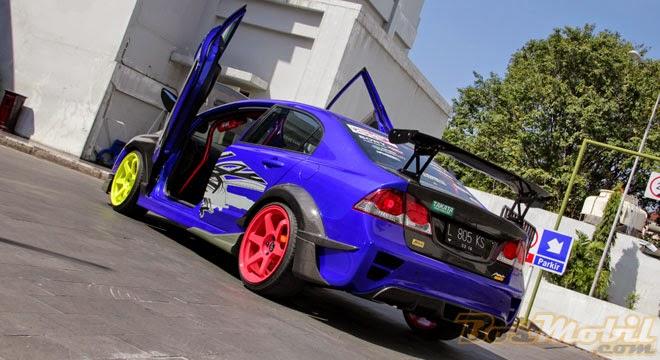 modifikasi mobil terbaik terkeren ceper sedan sport di indonesia