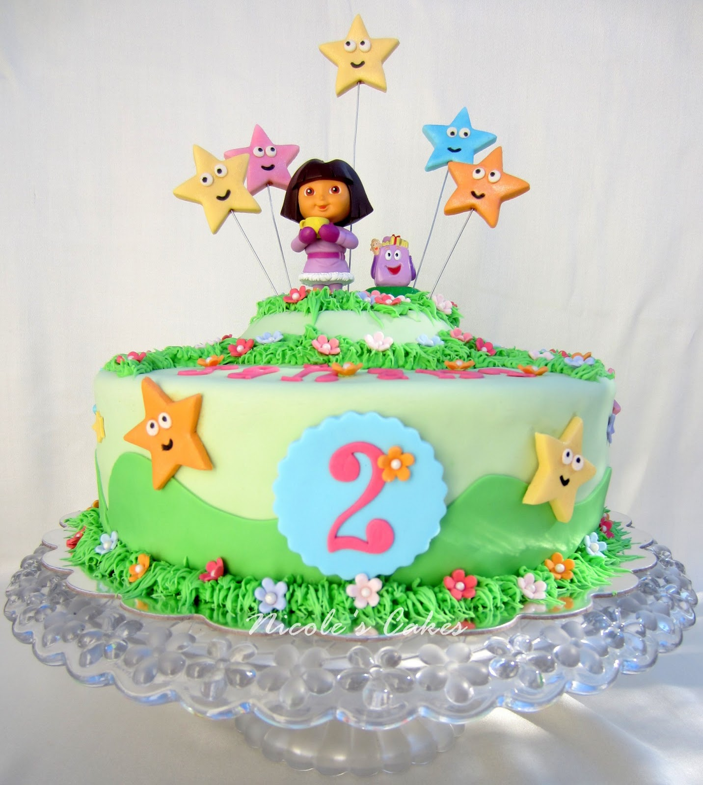 Confections Cakes Creations Dora The Explorer Birthday Cake