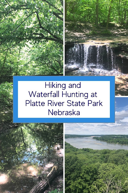Nebraska Waterfall and Natural Trails Entice at Platte River State Park