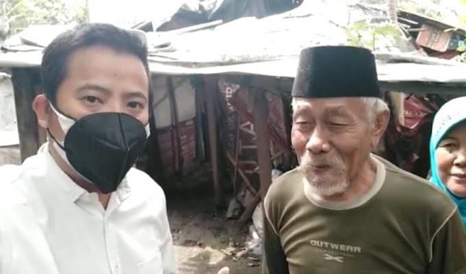 Merasa Prihatin, BM PAN Kota Serang Bawa Kekek Bukhori dan Nenek Tinggal di Rusunawa