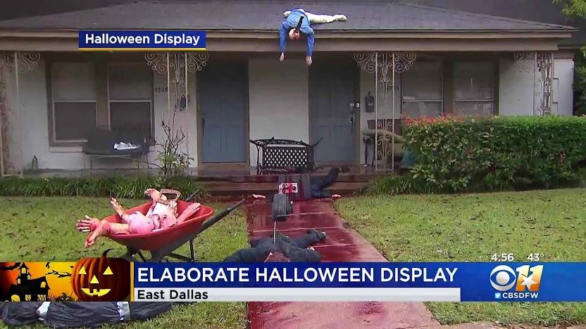 Dallas a polícia não fez nada porque era uma forma lúdica do Halloween