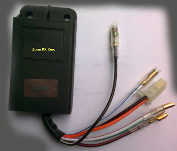 Cara Memasang Warna Kabel CDI RX King