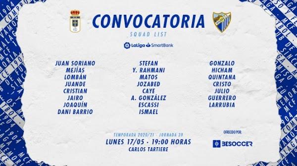 Málaga, convocatoria sin Orlando Sá ante el Oviedo