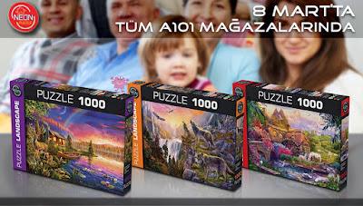 Puzzle-A101-Neon Puzzle