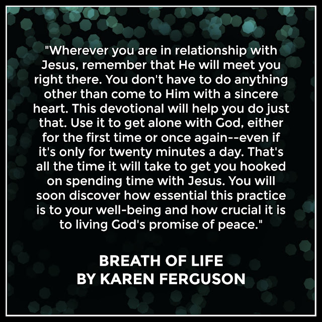 Breath of Life by Karen Ferguson, review on Tomes and Tequila, Link to Amazon