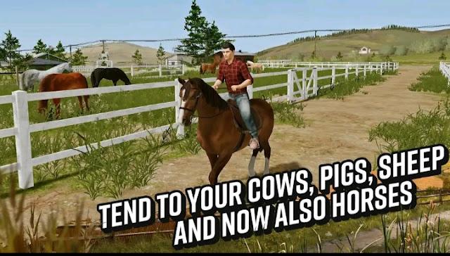 تحميل لعبة المحاكاة الزراعية Farming Simulator 20 المدفوعة مجانا  للاندرويد احدث اصدار من ميديا فاير