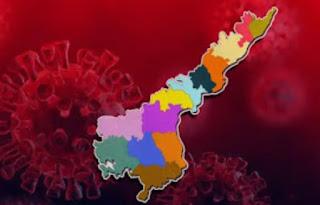 Red zone mandals in Andhra Pradesh