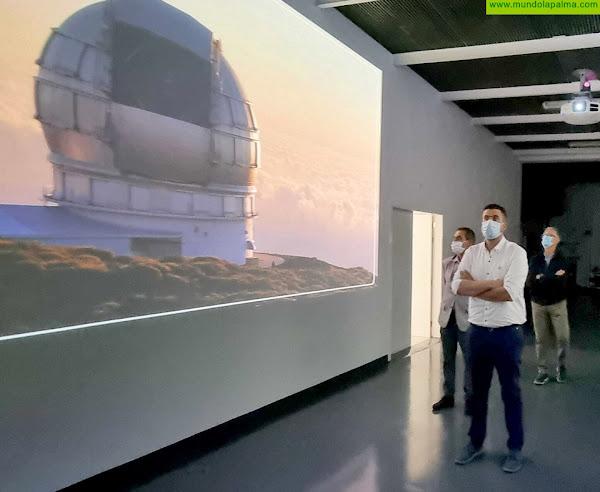 El Cabildo licita las obras para dotar de energía eléctrica al Centro de Visitantes del Roque de Los Muchachos