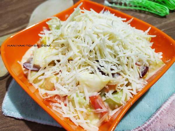 cara membuat salad buah rumahan