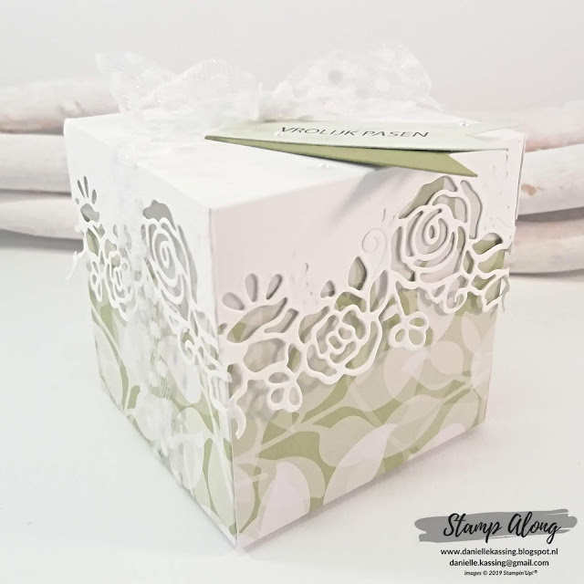 Stampin' Up! Floral Romance Specialty DSP en Lovely Flowers Edgelits Dies