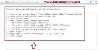 Website Parse Adsense