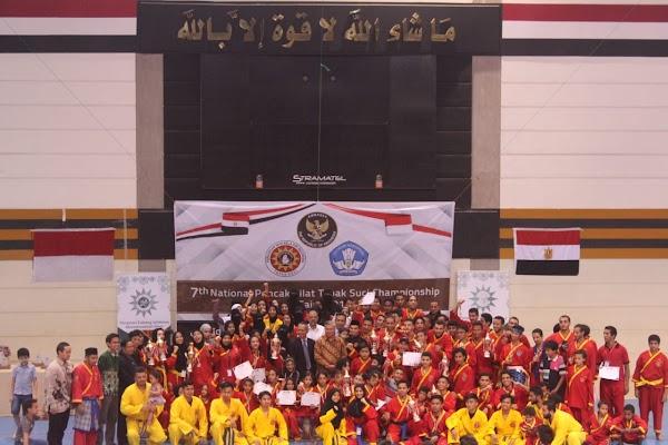 Semarak! Turnamen Tapak Suci Mesir 2019 Diikuti 570 Peserta dari Indonesia dan Mancanegara