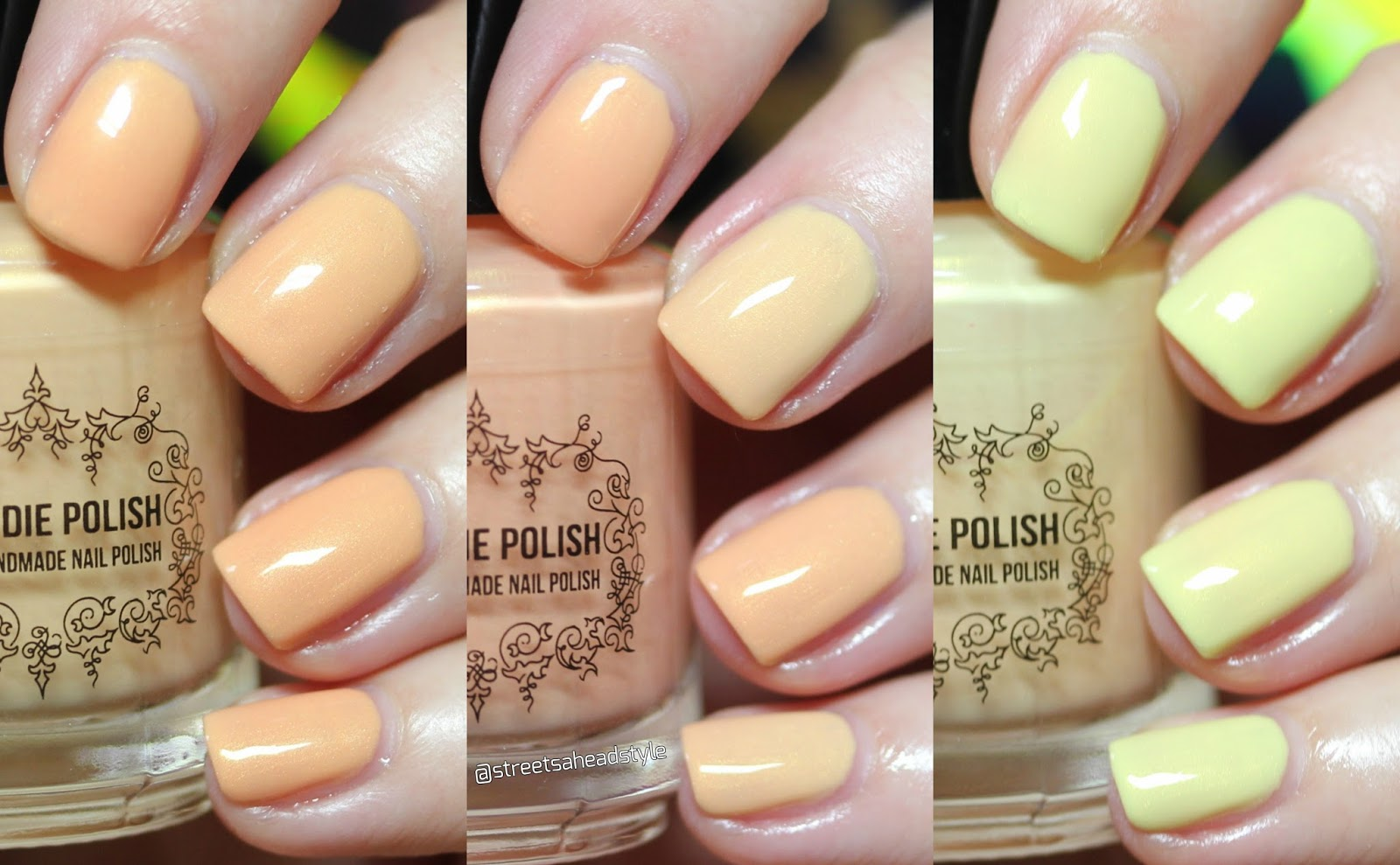 Streets Ahead Style: Canadian Nail Polish and Beauty Blog: My Indie ...