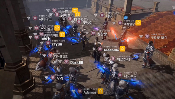 Lineage II: Revolution - Gameplay