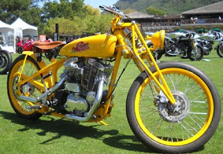 psyclone sportster ironhead 900 yellow board track