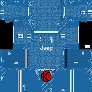 Juventus 2019/2020 Third Kit - Dream League Soccer Kits