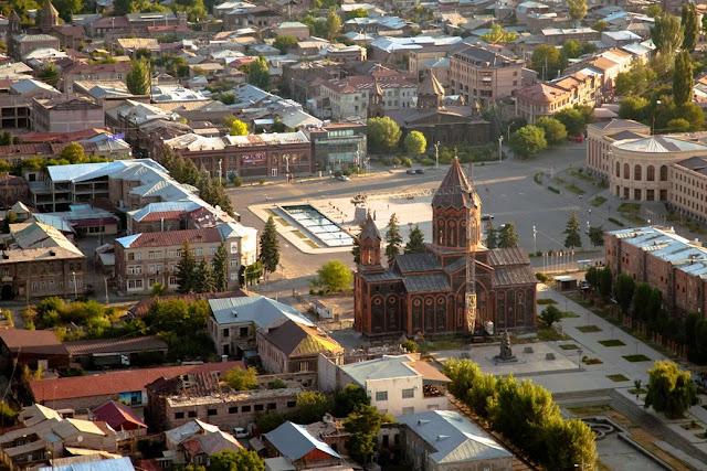Gyumri espera Día de la Independencia Armenia