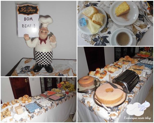 Café da manhã, Hotel La Ponsa, Itatiaia/RJ