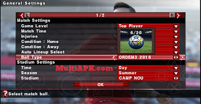 PES2016 Patch By JPP v3 PPSSPP New Update Transfer Januari