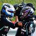 Bottas desbanca Hamilton e crava a pole position para o GP dos 70 anos da F1, Hulkenberg brilha e marca o terceiro tempo