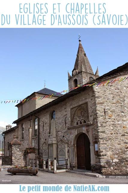 Les Eglises et chapelles du village d'Aussois